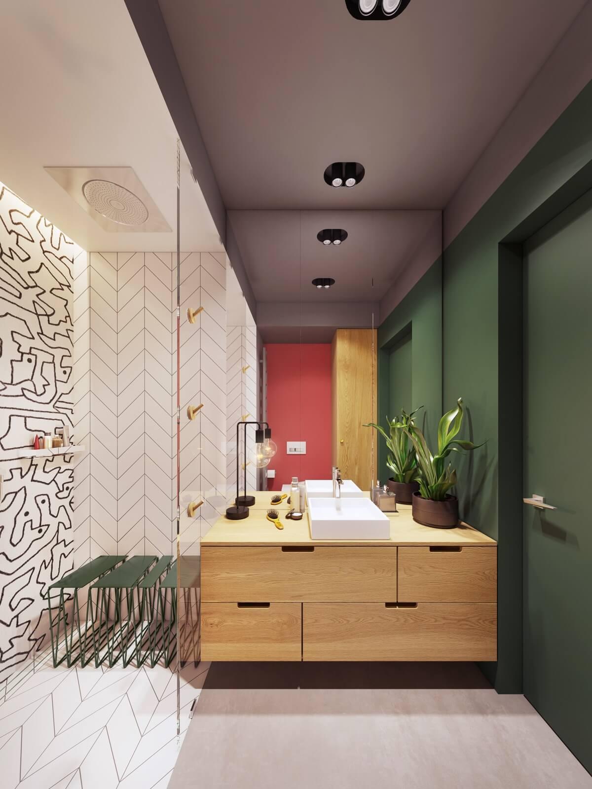 mẫu thiết kế nội thất chung cư hiện đại 6