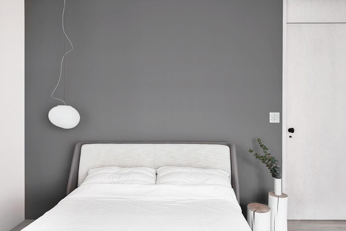 thiết kế nội thất chung cư đẹp phong cách tối giản 6