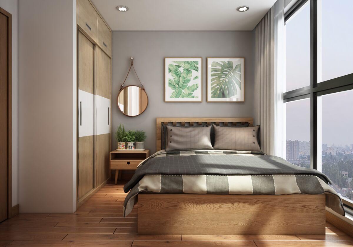thiết kế nội thất chung cư phong cách á đông 4