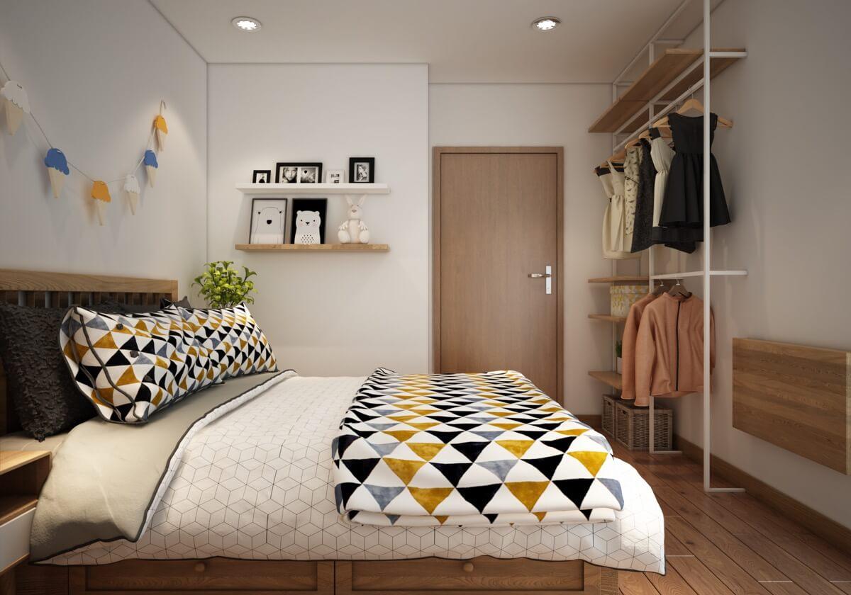 thiết kế nội thất chung cư phong cách á đông 6