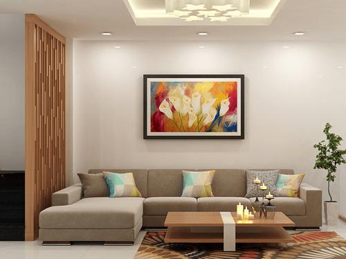 Các mẫu thiết kế phòng khách đẹp sang trọng cho nhà ống