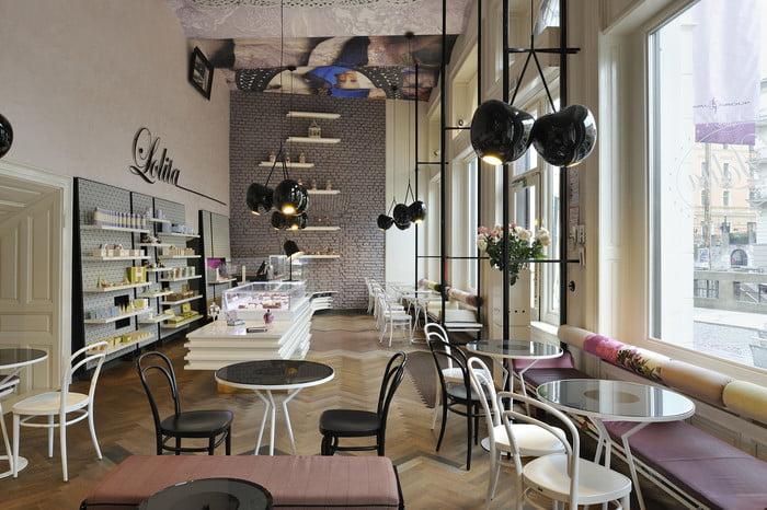 mẫu thiết kế quán cafe đẹp 1