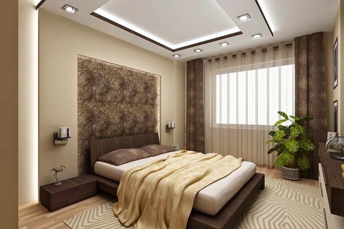 mẫu trần thạch cao phòng ngủ đẹp 11