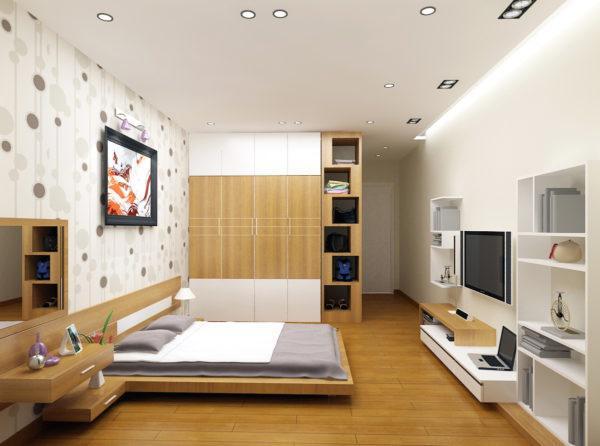 mẫu trần thạch cao phòng ngủ đẹp 14