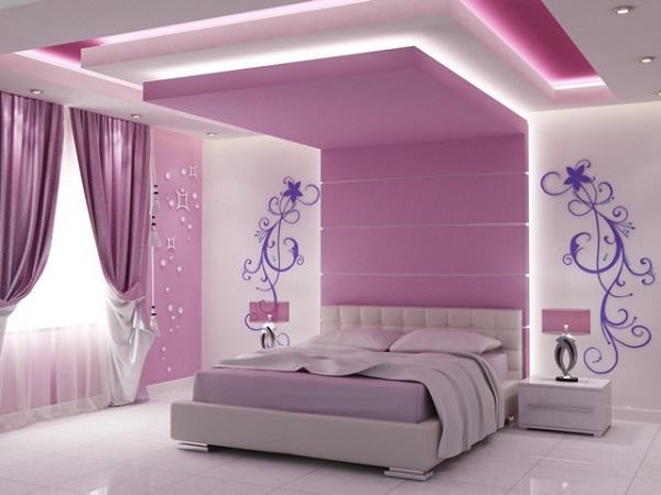 mẫu trần thạch cao phòng ngủ đẹp 15