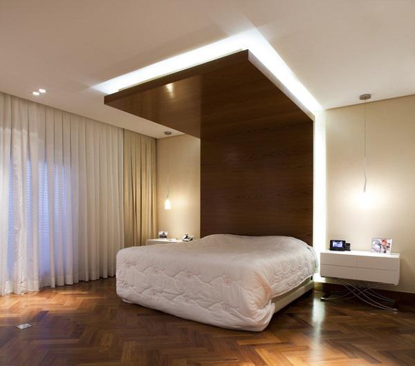 mẫu trần thạch cao phòng ngủ đẹp 19