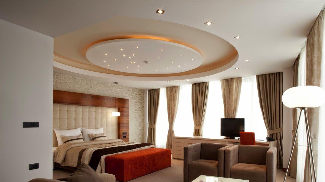 mẫu trần thạch cao phòng ngủ đẹp 22