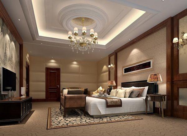 mẫu trần thạch cao phòng ngủ đẹp 7