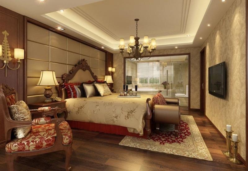 mẫu trần thạch cao phòng ngủ đẹp 8
