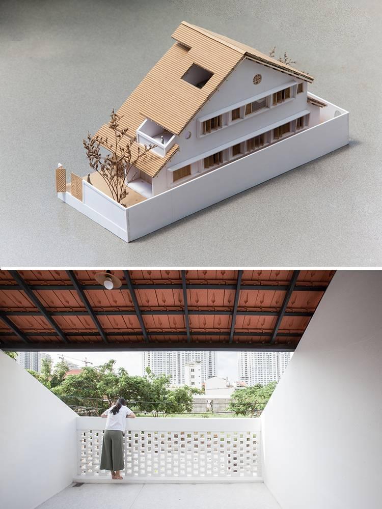 nhà 1 trệt 1 lầu mái ngói 13