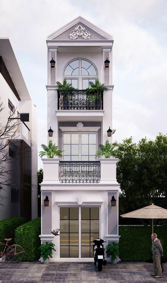 nhà 3 tầng 1 mặt tiền