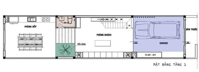 nhà 4 tầng tân cổ điển