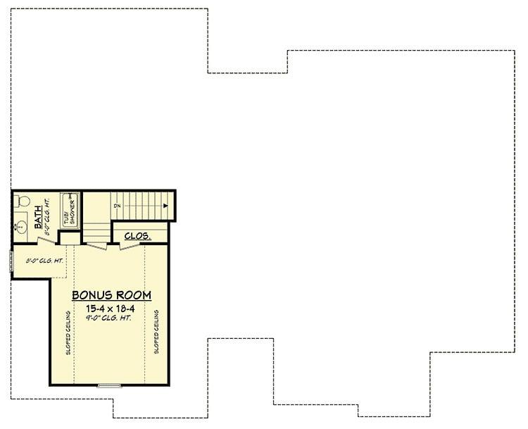 nhà cấp 4 gác lửng mái tôn