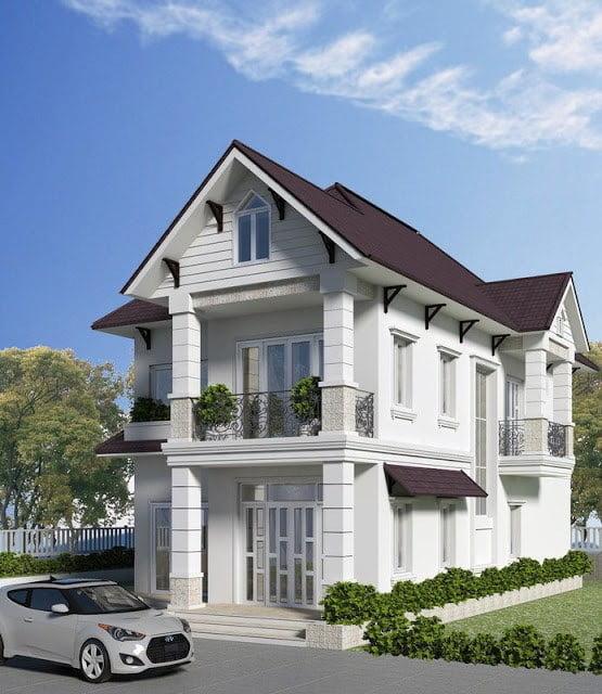 nhà đẹp 2 tầng mặt tiền 7m 1