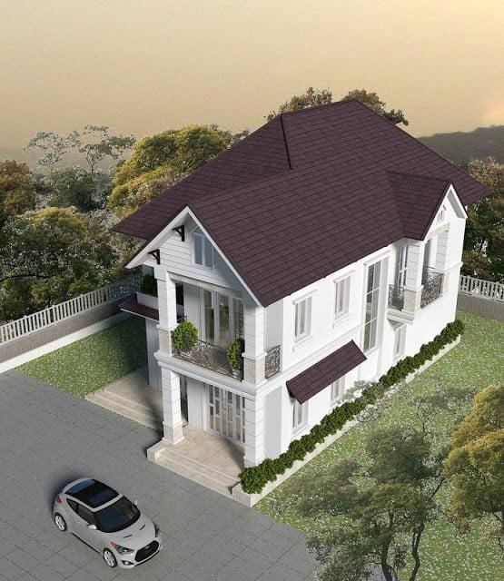nhà đẹp 2 tầng mặt tiền 7m 2