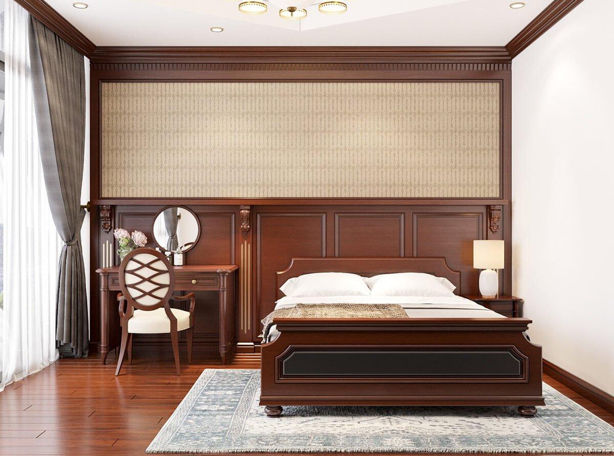 nhà ở song lập hiện đại phòng ngủ