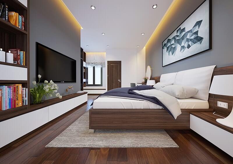 mẫu thiết kế nhà phố 3 tầng 6x12m 15