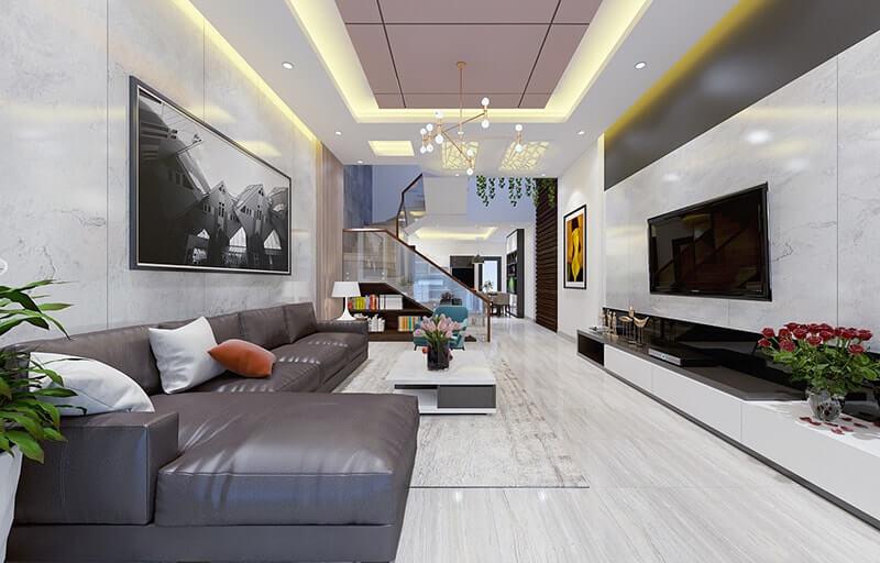 mẫu thiết kế nhà phố 3 tầng 6x12m 8