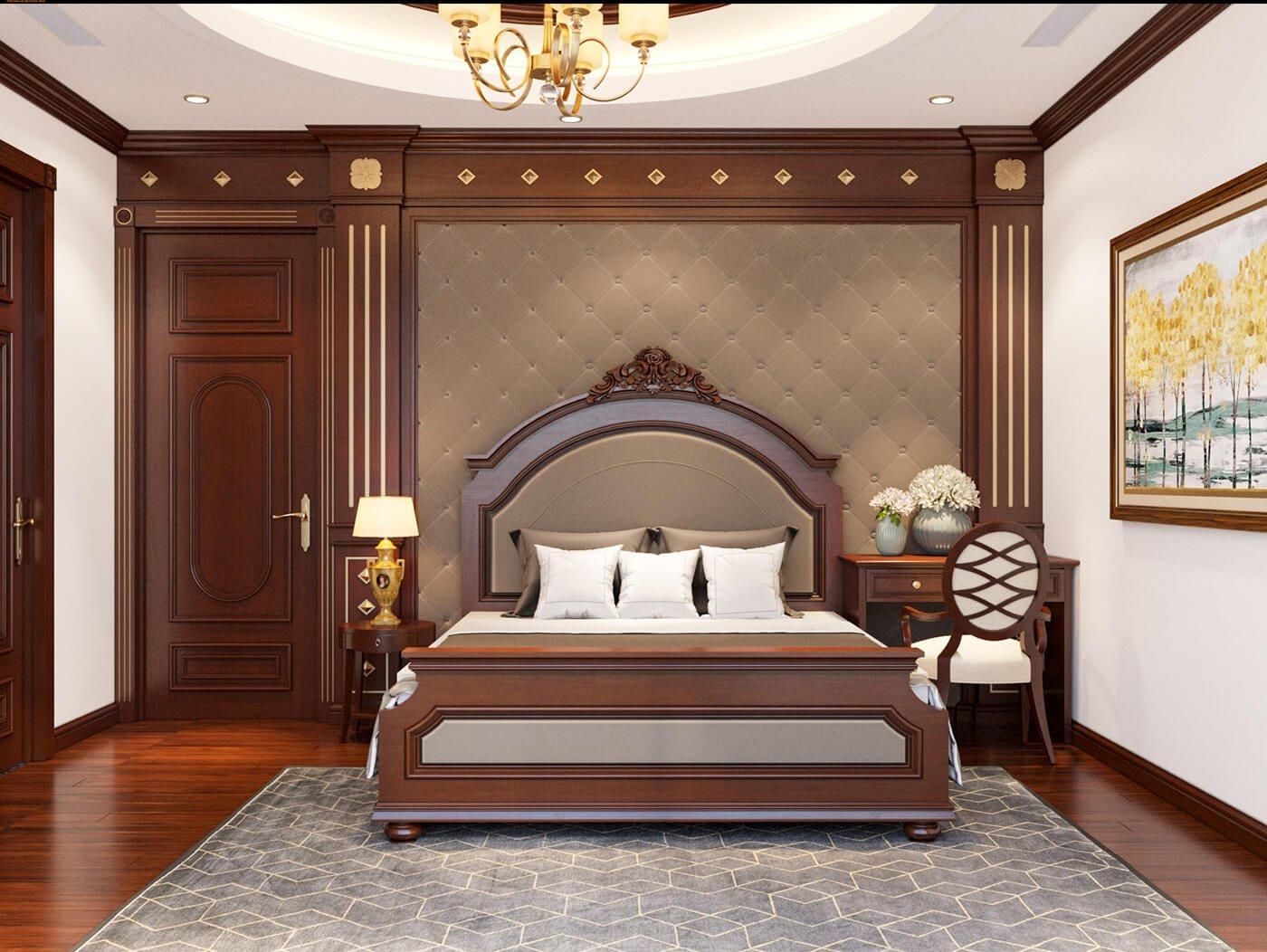 nhà phố 4 tầng hiện đại 4x10m phòng ngủ