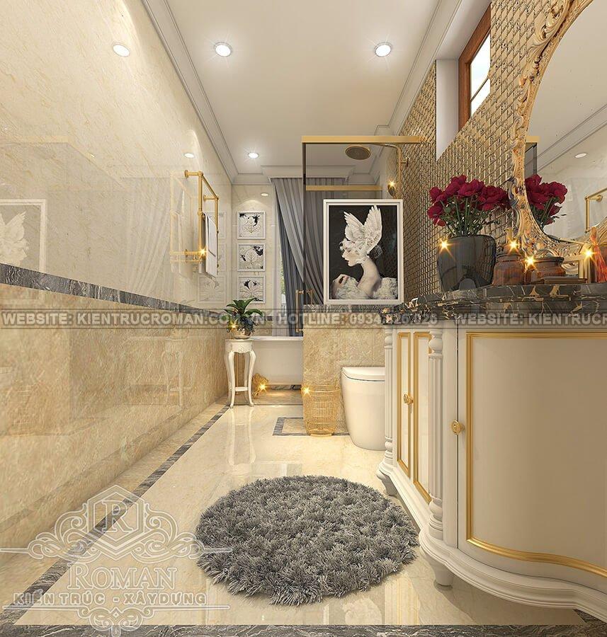 nhà phố đẹp 3 tầng phòng tắm master
