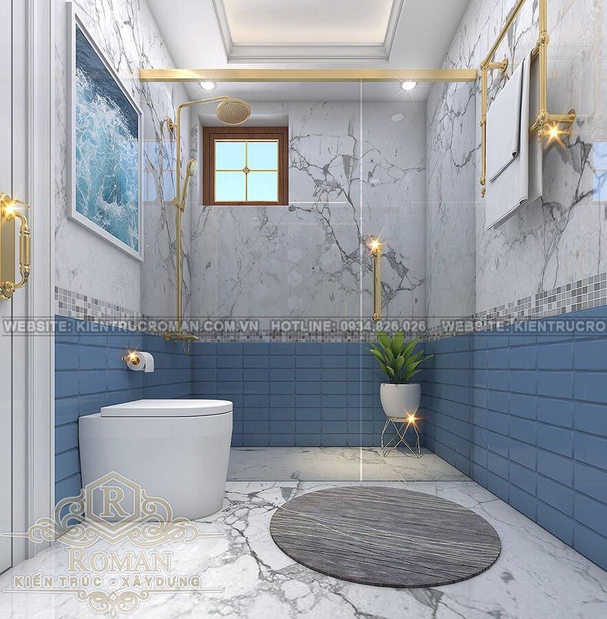 nhà phố đẹp 3 tầng phòng tắm
