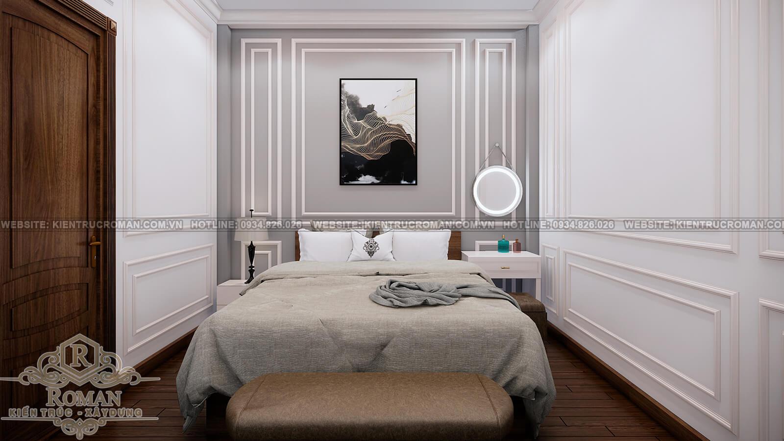 nhà phố hiện đại 4 tầng phòng ngủ