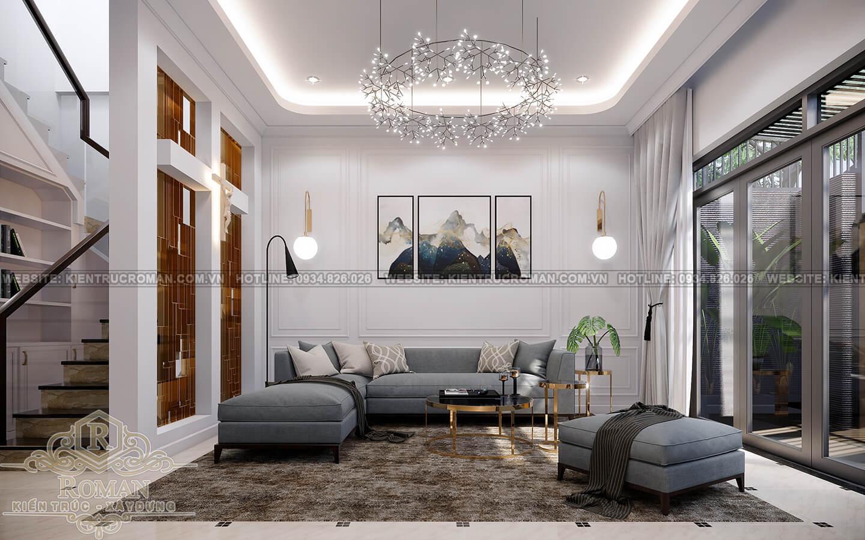 nội thất nhà phố phong cách hiện đại
