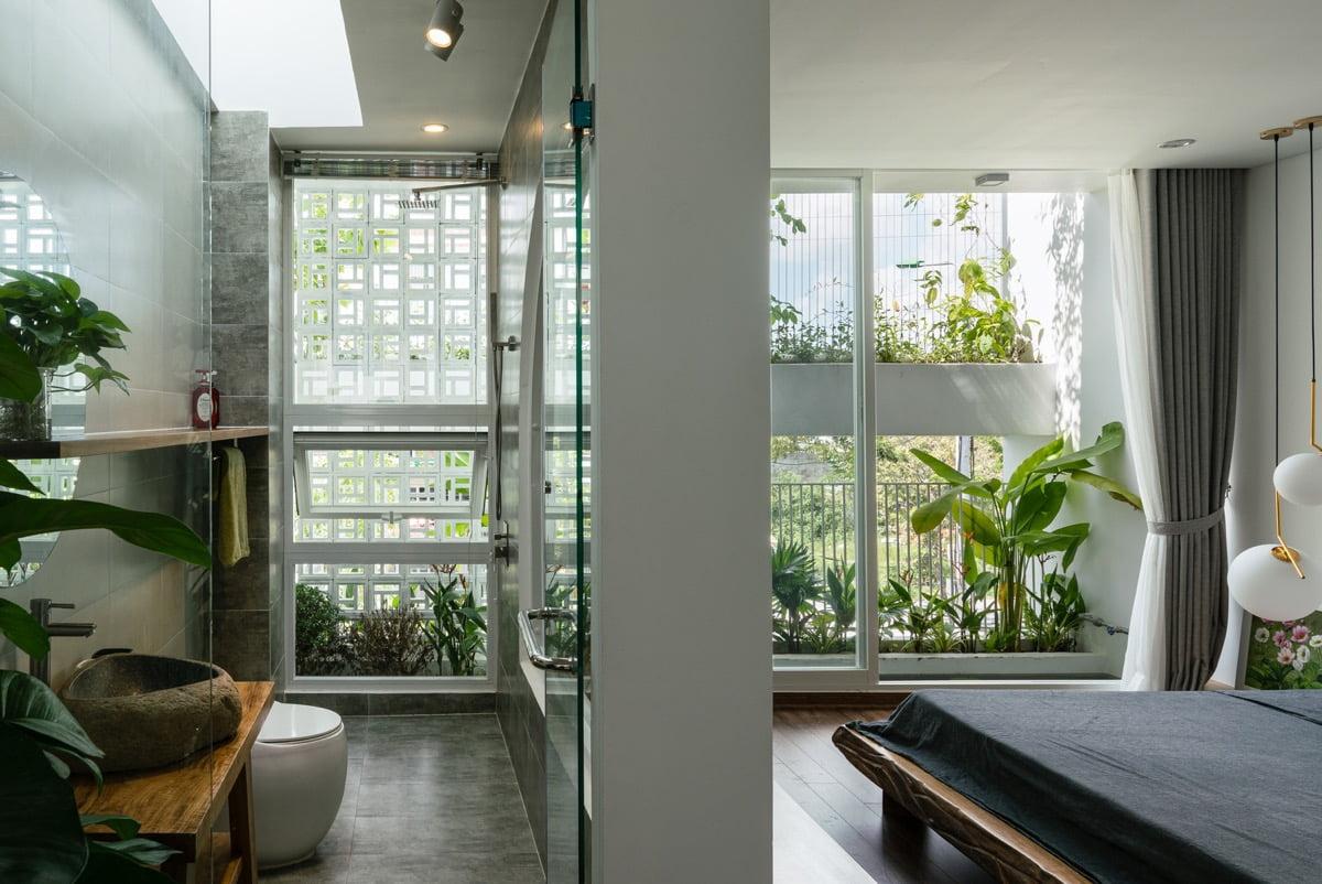 nhà phố hiện đại 5x20m nhà tắm