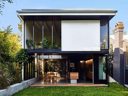 nhà vườn đẹp 2 tầng