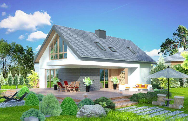 nhà vườn đẹp ở nông thôn 13