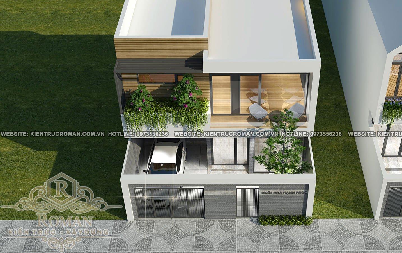 Những mẫu biệt thự mini 2 tầng đẹp giá hợp lý cho các gia đình trẻ