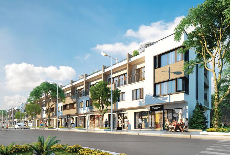 mẫu thiết kế nhà phố liền kề đẹp 5