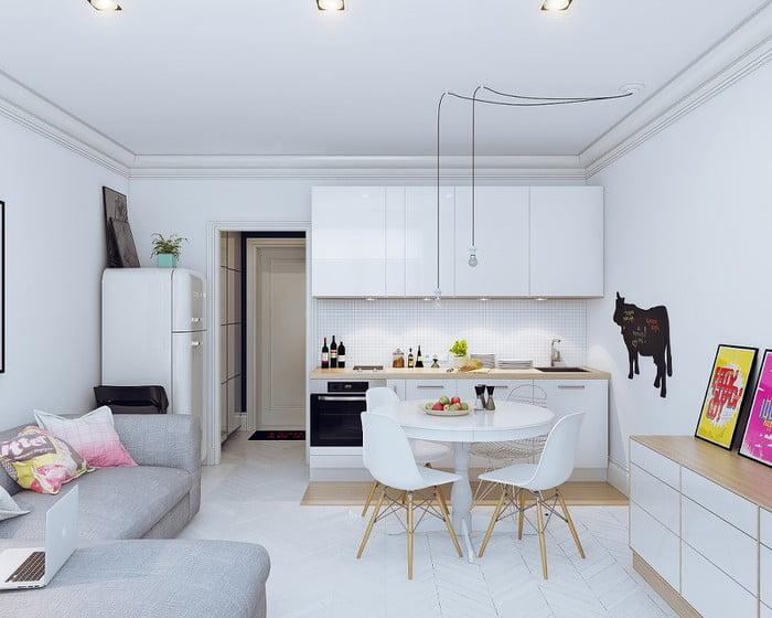 nội thất nhà đẹp diện tích nhỏ 16