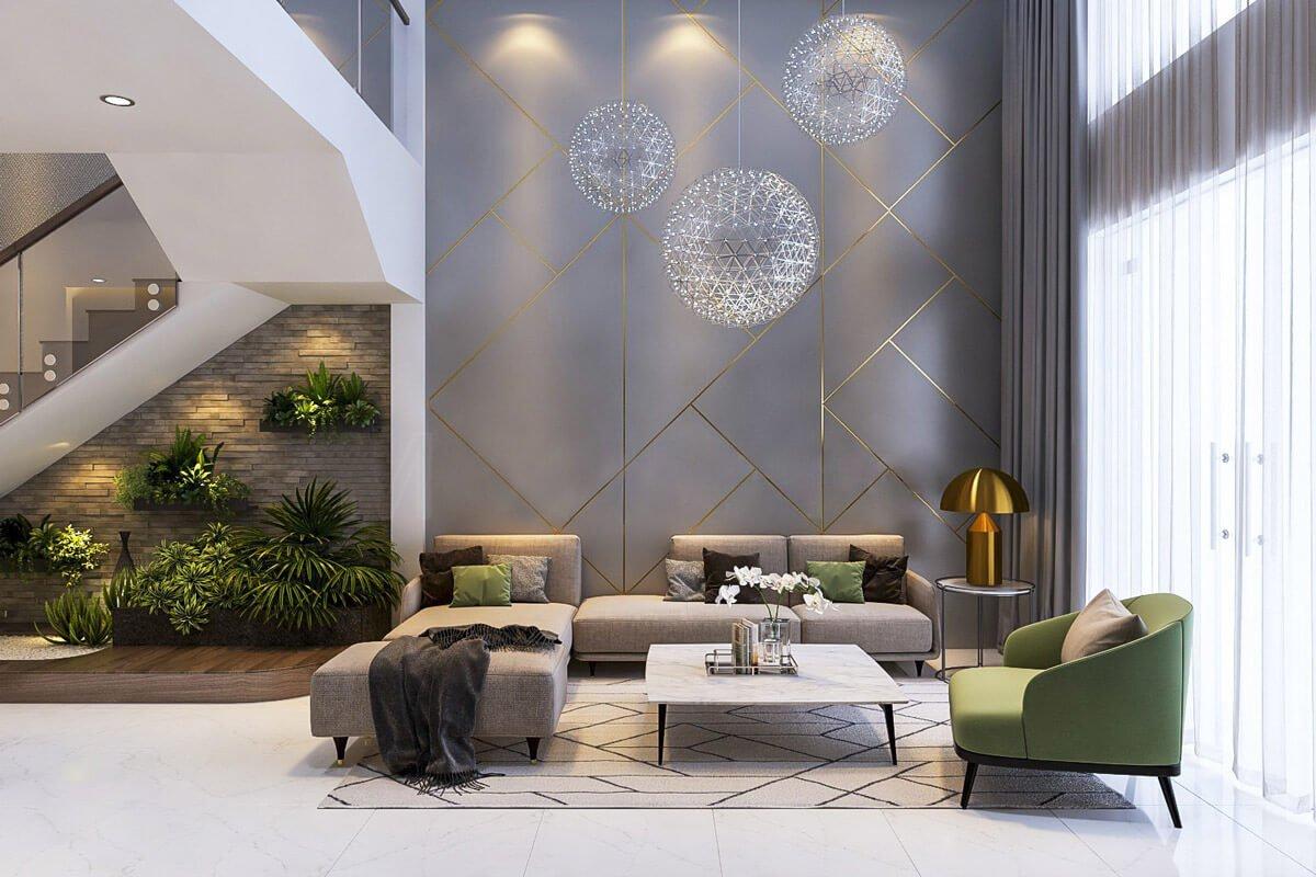 nội thất phòng khách đẹp hiện đại 4