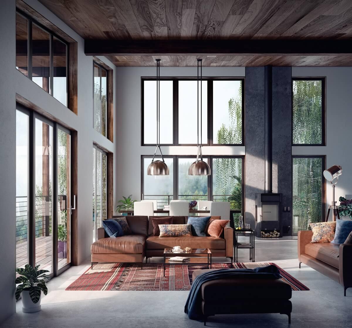 nội thất phòng khách đẹp hiện đại 6