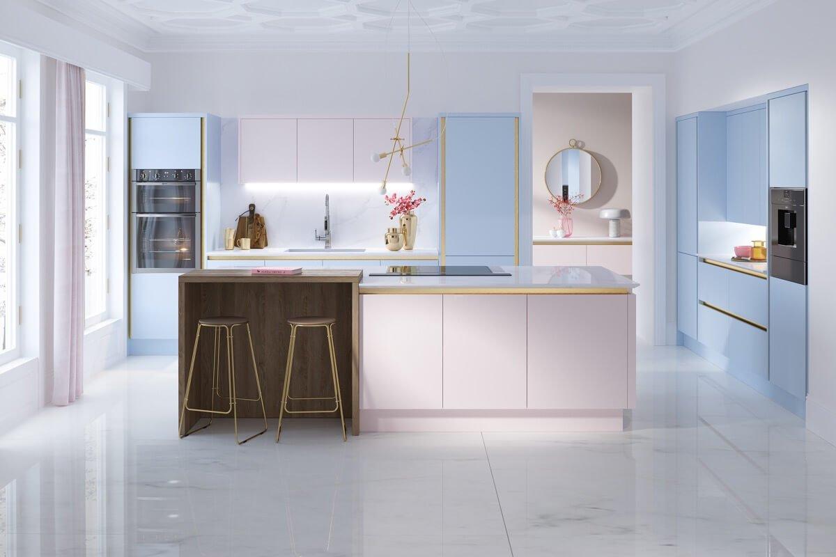 phòng bếp đẹp đơn giản 1