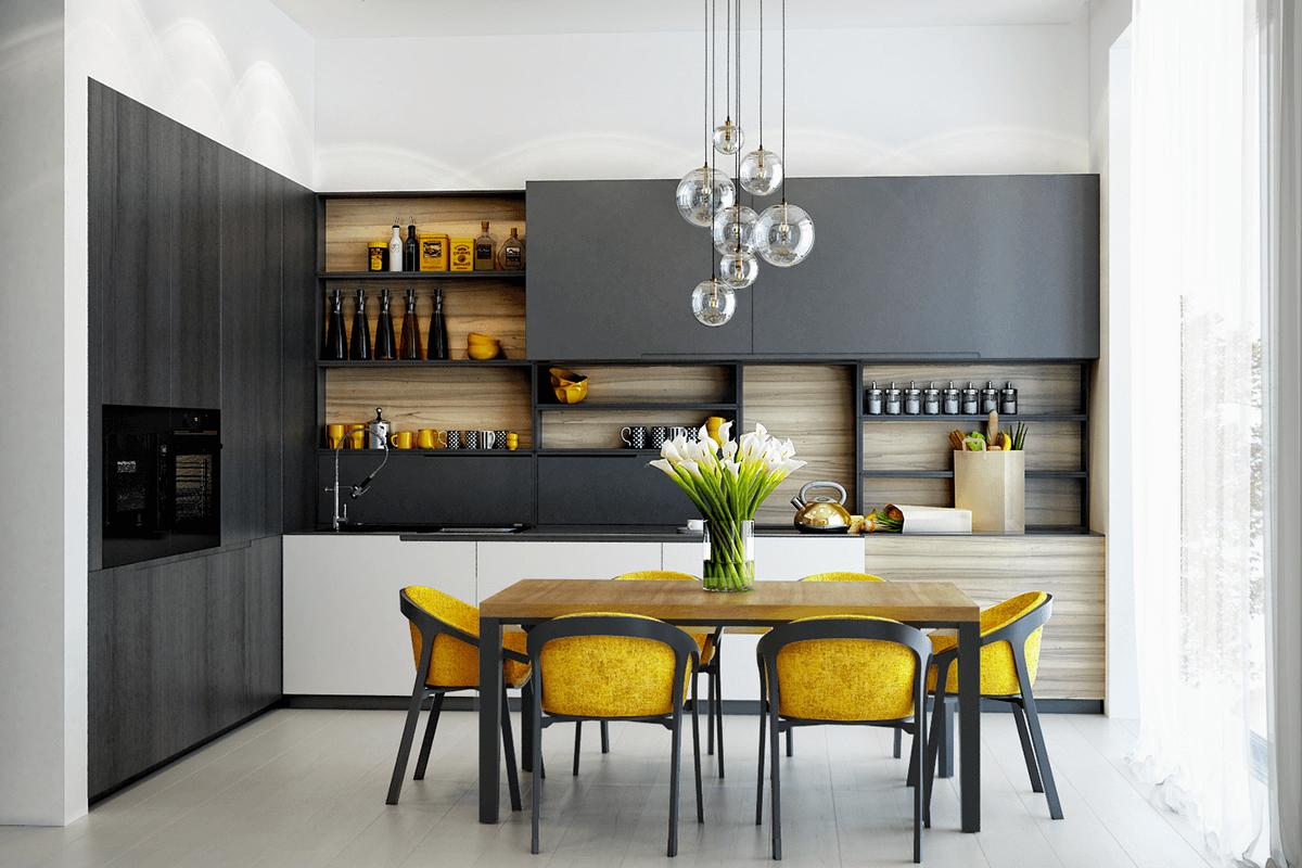phòng bếp đẹp đơn giản 13