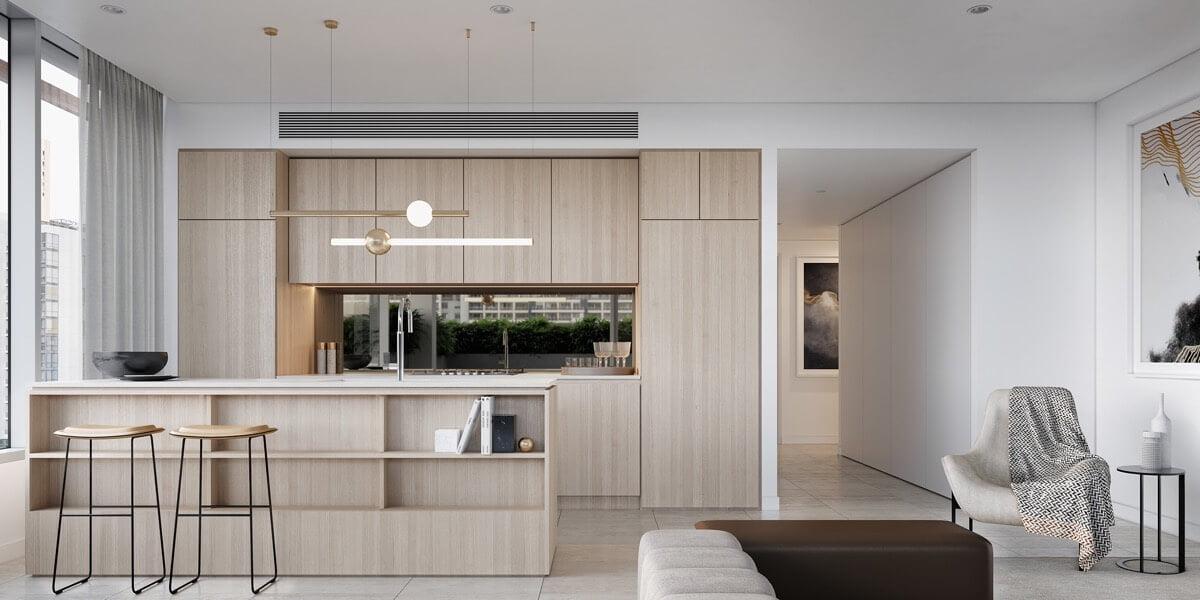 phòng bếp đẹp đơn giản 3