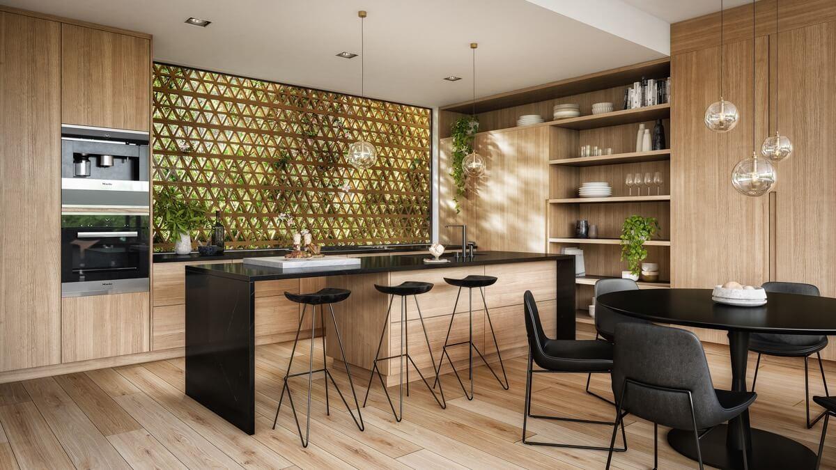phòng bếp đẹp đơn giản 4