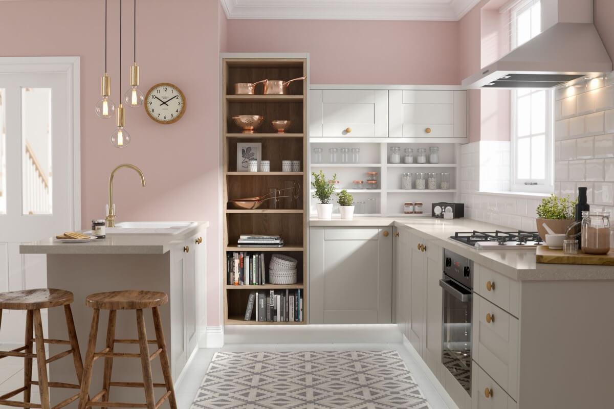 phòng bếp đẹp đơn giản 5