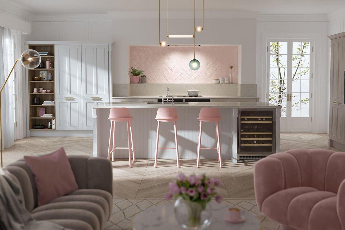 phòng bếp đẹp đơn giản 6