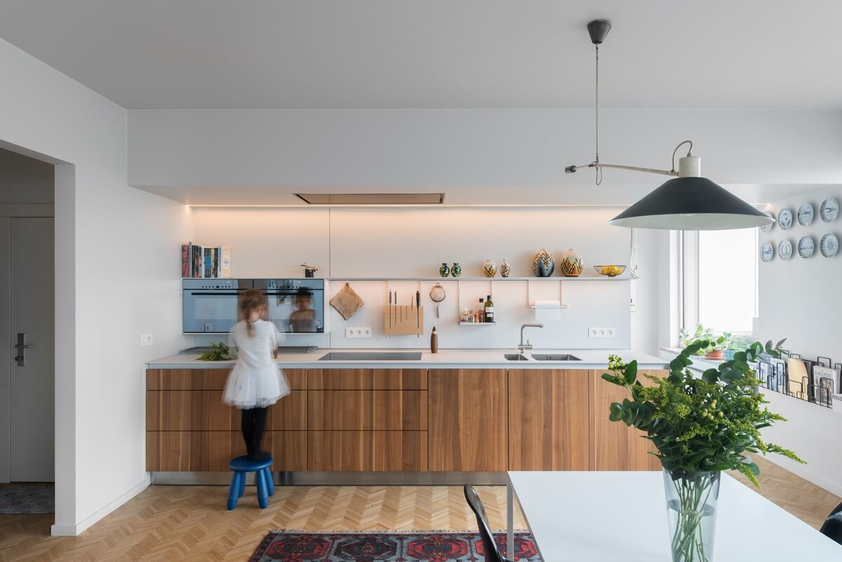 phòng bếp đẹp đơn giản 7