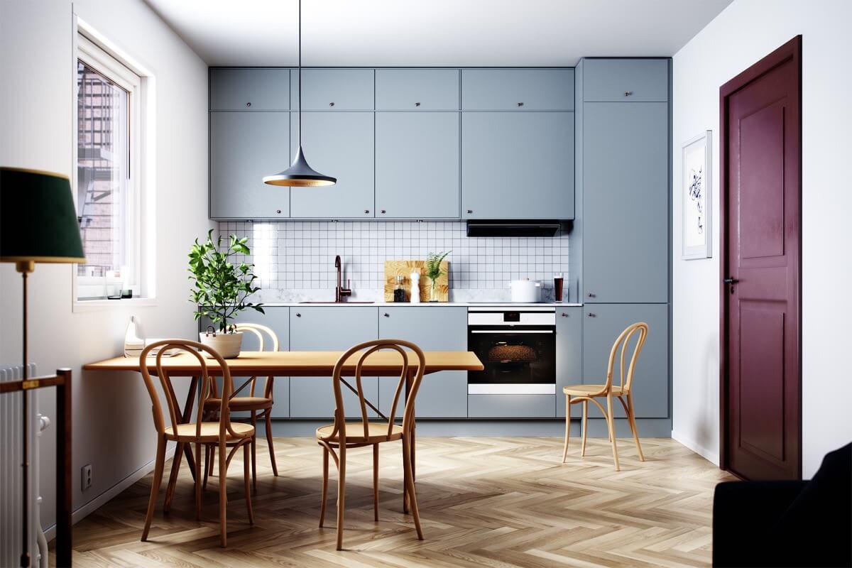 phòng bếp đẹp đơn giản 9