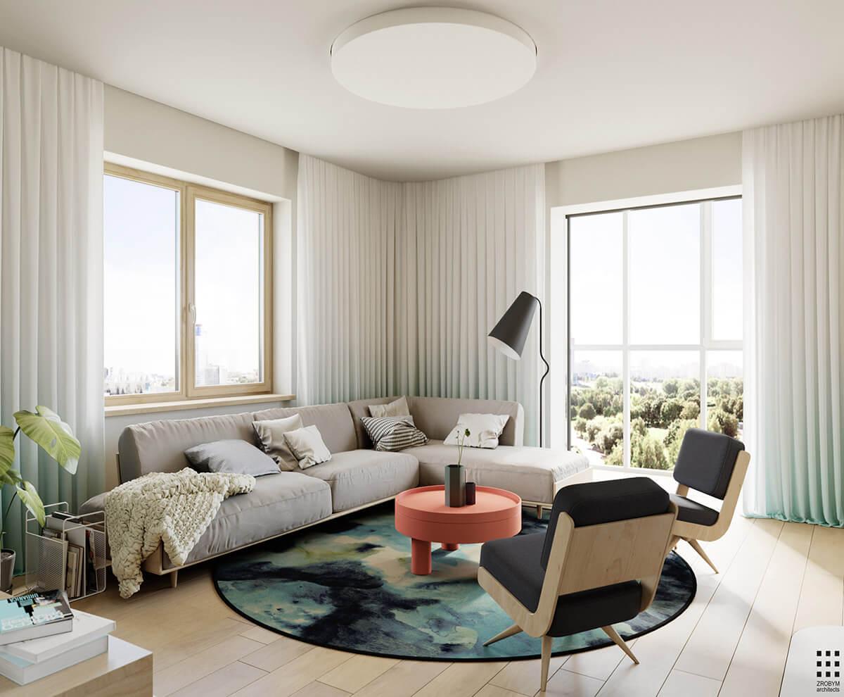 phong cách thiết kế nội thất chung cư đẹp được yêu thích 1