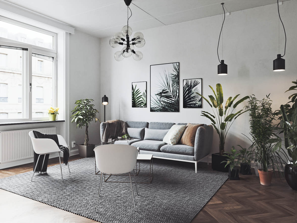 phong cách thiết kế nội thất chung cư được yêu thích 4