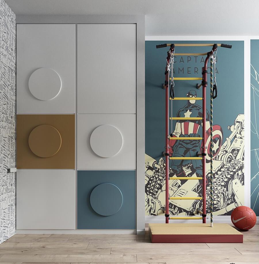 phòng ngủ dành cho trẻ em sáng tạo