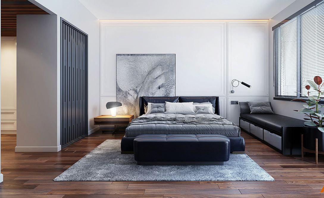 phòng ngủ đẹp dành cho biệt thự master