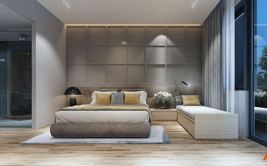 phòng ngủ đẹp dành cho biệt thự chính