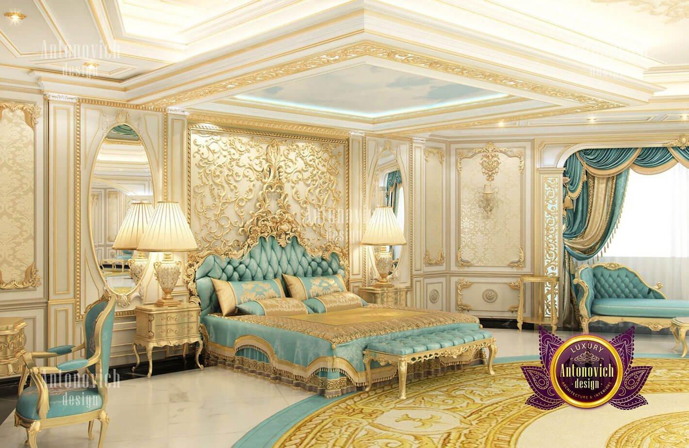 phòng ngủ hoàng gia đẹp
