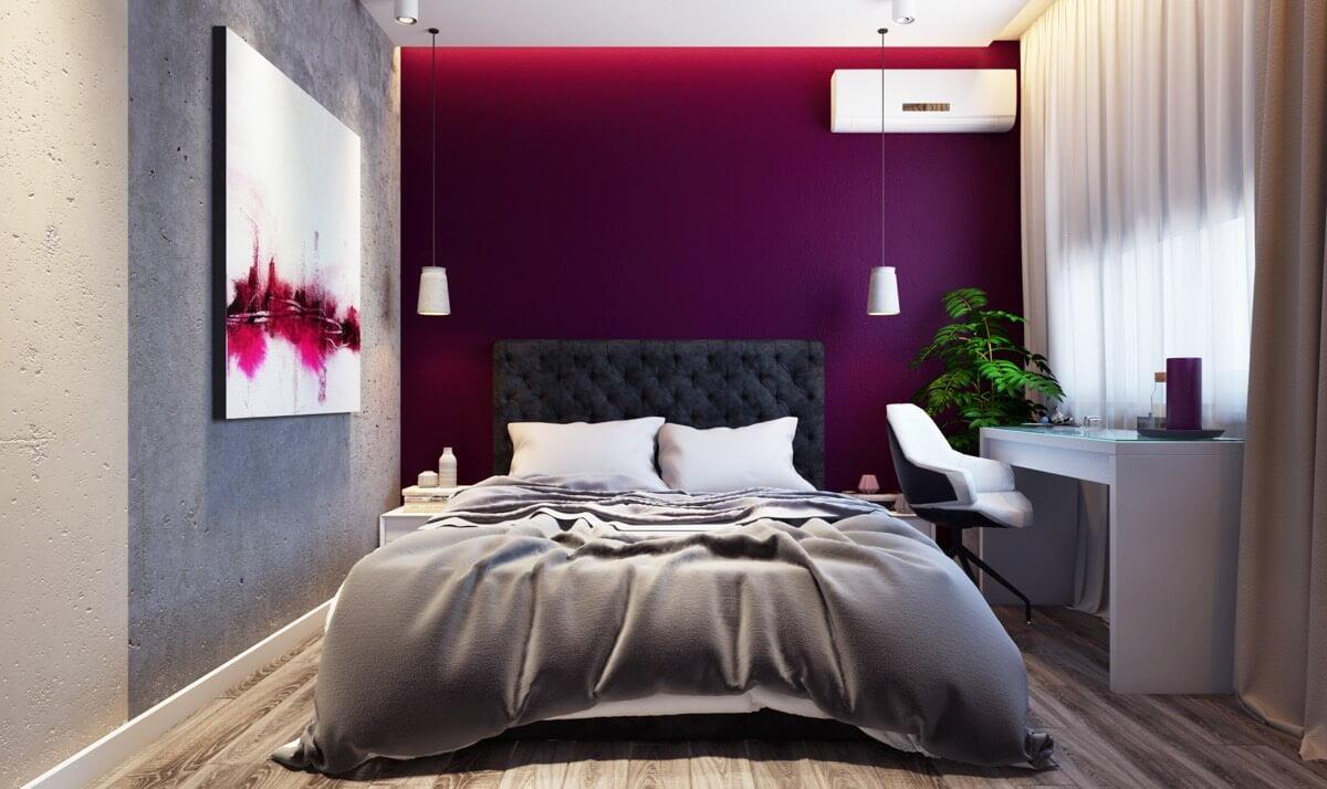 phòng ngủ master hiện đại nhỏ